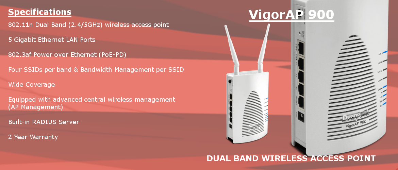 Vigor2860Vac